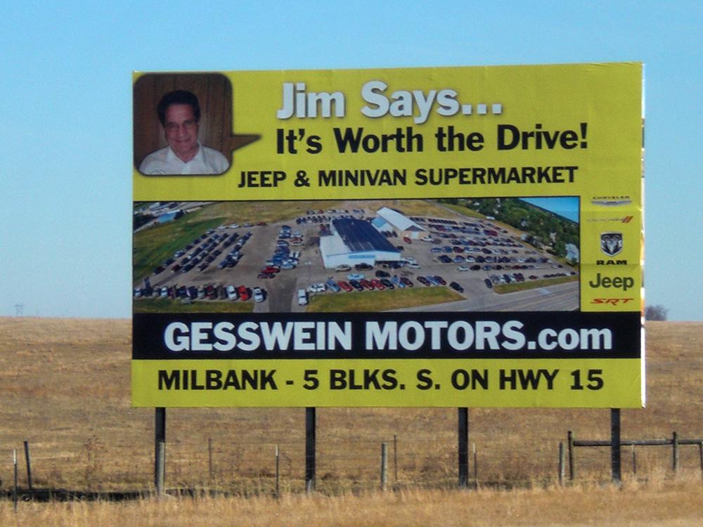 Gesswein Motors Drive By Signs